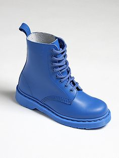 Dr Martens Primary Pascal 8 Eye Blue
