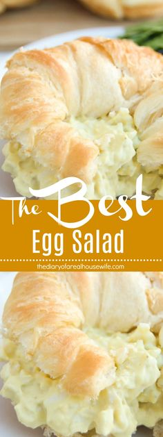 Pin this one when you need an easy lunch idea! Perfect for the summer, The Best Egg Salad. Pin this one when you need an easy lunch idea! Perfect for the summer, The Best Egg Salad. Soup And Sandwich, Sandwich Recipes, Egg Recipes, Cooking Recipes, Healthy Recipes, Salad Sandwich, Recipies, Good Food, Yummy Food