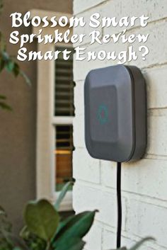 With all the climate change debate going on, whatever your view, no one can argue that there's a need to save water, and for homes to use this precious resource in a smarter way. Enter a range of smart irrigation and sprinkler systems like the Skydrop we've covered previously and now the Blossom Smart Sprinkler.  The Blossom uses the weather forecast and your own settings to provide the right amount of water for your lawn or various types of plants.