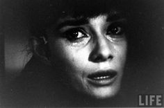 AUDREY HEPBURN CRYING, 1961