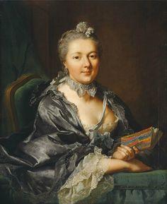 Tischbein the Elder - Marianne Pernette Tischbein, second wife of the painter, 1762.