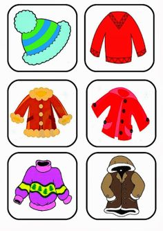 Body Preschool, Preschool Worksheets, Kindergarten Activities, Preschool Activities, Winter Activities For Kids, Math For Kids, Yoga For Kids, Clothing Themes, Classroom Art Projects