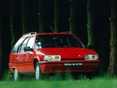 We had the red one Citroen BX Break TGD. Noop, no Turbo