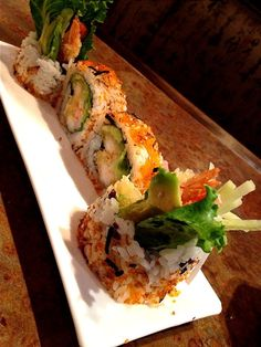 Tempura Roll. Love shrimp tempura rolls!
