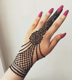 50 Most beautiful Jewelry Mehndi Design (Jewelry Henna Design) that you can apply on your Beautiful Hands and Body in daily life. Henna Hand Designs, Mehndi Designs Finger, Mehndi Designs For Kids, Mehndi Designs 2018, Mehndi Designs Book, Mehndi Designs For Beginners, Modern Mehndi Designs, Indian Mehndi Designs, Mehndi Designs For Fingers