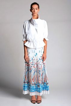 Catherine Malandrino Spring 2014 Ready-to-Wear Collection Slideshow on Style.com   Love this skirt