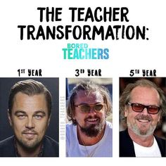 The school years really take their toll on ya!