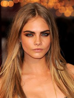 """Cara Delevingne's top beauty moments: At the London premiere of """"Anna Karenina,"""" September 2012, Delevingne had hands down the sexiest smoky eyes we've ever seen"""