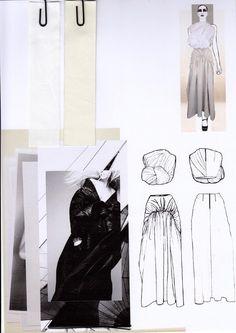 Fashion Sketchbook - fashion drawings & development; fashion designing process; fashion portfolio // Rachel Raheja