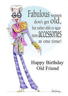 Birthday Ecards for Females Happy Birthday Old Friend, Happy Birthday Ecard, Birthday Cheers, E Cards, Greeting Cards, Betty Boop Cartoon, Birthday Board, Great Quotes, Old Friends