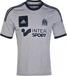 The new grey/silver Olympique Marseille football jersey is now availble from our store at Soccer Box. Read our latest blog ofor Marseille http://www.soccerbox.com/blog/olympique-marseille-football-jersey/