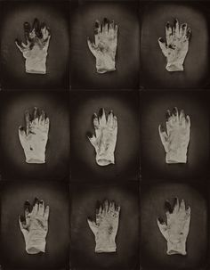 Ben Cauchi - Stained gloves - A litany Indoor Photography, Artistic Photography, Frankenstein, Sally, 1920s, Grid, The Past, Gloves, Portraits