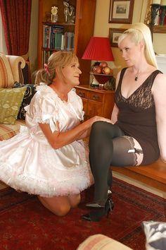 mistress spanks maid