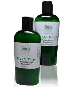 Chemotherapy Shampoo & Conditioner - Kush Creams Kush Creams