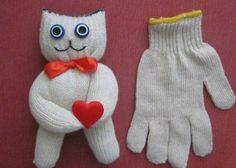 Cute gloves creative