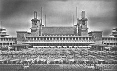 frank lloyd wright midway gardens | midway gardens chicago tribune picture