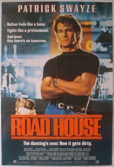 1989's 'ROADHOUSE' is so bad it's good.  Find out why at www.CutPrintFilm.com #roadhouse #swayze