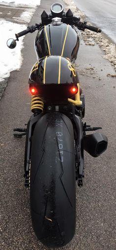 Ducati Scrambler Cafe Racer by Motobene #motorcycles #caferacer #motos | que moto
