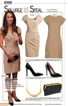Kate Middleton - Get her look  Heidi Hastings www.heidihastings.wordpress.com