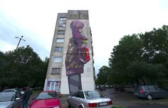 Suprise By ETAM CRU Project Souls In Walls at Urban Creatures in Sofia, Bulgaria  Photo by Simon Varsano