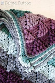 Vintage Vineyard Blanket: crochet pattern for purchase