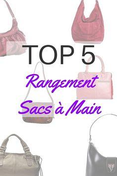 TOP 5 des rangements pour sacs à main