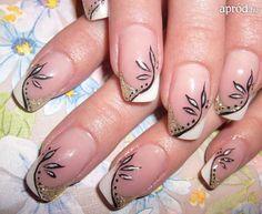 French Nails, Hair Beauty, Tinta China, Makeup, Nail Design, Art, Gel Nail, Pink, Hair And Beauty