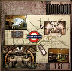 London Underground - Scrapbook.com