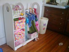 Image Detail for - Girls' Dress-Up Closet — Finished! | Sean Camden