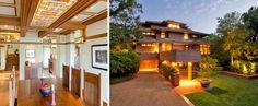 Frank Lloyd Wright-inspired home on Kiawah Island, S.C.