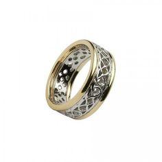 Achill Knot Wedding Ring-10K