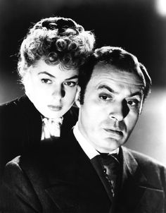 "Bergman, Ingrid (Gaslight),With Charles Boyer...when I first saw Gaslight, I wondered who is this guy? Charles is perfectly polished and evil in this movie. ""Paula, you must calm down."""