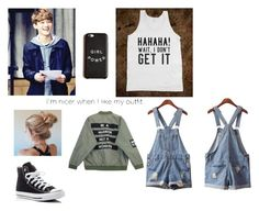 """""""Untitled #55"""" by kpop200 on Polyvore featuring Isadora, Chicnova Fashion and Converse"""