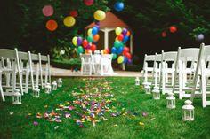 Outdoor Weddings, Real Weddings, Outside Wedding