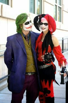 Harley and joker costumes