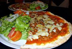 Meia Pizza do dia + Salada Mista