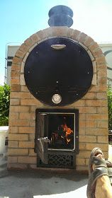My Pizza Oven: El Smoko, the Chilean. Oven Diy, Diy Pizza Oven, Pizza Oven Outdoor, Pizza Ovens, Outdoor Kitchen Patio, Outdoor Fire, Dragon Fire Pit, Bakers Oven, Grill N Chill