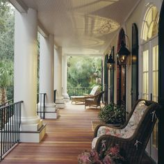 Reading porch