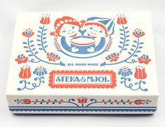 STEKA&MJOL|ギフトボックスデザイン|カフェ飲食店中心のデザイン制作|Alnico Design