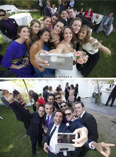 """¿Sabias que """"SELFIE"""" ha sido la palabra del año? ¿Te acuerdas de los selfies que te hiciste con tus amigos-familiares en la última boda a la que fuiste? Te enseñamos uno de los más originales del año de una de nuestras bodas."""
