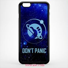 Dont Panic panic at the disco for iPhone 7 case, iPhone 6/6S Plus, iPhone 5/5S case, HTC case, samsung galaxy case, galaxy S5/S6/S7/S8 and samsung galaxy other - TeesCase