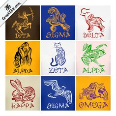 Greek Elite offers unique, custom made, and quality products for members of Greek Letter organizations. Kappa Alpha Psi Fraternity, Omega Psi Phi, Alpha Kappa Alpha Sorority, Zeta Phi Beta, Delta Sigma Theta, Sorority Life, Aka Sorority, Greek Animals, Black Fraternities