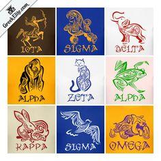 Greek Elite offers unique, custom made, and quality products for members of Greek Letter organizations. Kappa Alpha Psi Fraternity, Omega Psi Phi, Sigma Gamma Rho, Alpha Kappa Alpha Sorority, Aka Sorority, Sorority Life, Greek Animals, Black Fraternities, Divine Nine