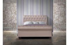 Birlea Castello Fabric Super King Size Bed Frame in Wheat £561.00