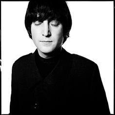John Lennon by David Bailey...a long long time ago when I spent a year working in the world's best camera shop in Soho, London, Bailey used to come in nearly every Saturday to drink champagne and have a natter with the boss, Keith Johnson. And nearly every Saturday Bailey would offer me a cigarette and grunt with surprise when I said no. I think he often had a rough Friday night, or a sore throat from all the cigs, because grunting was the main thing he did.