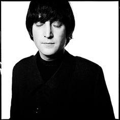 David Bailey (portrait of John Lennon)