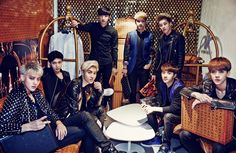 [140731] EXO @ BAZAAR Magazine Issue August 2014 via Luplay_0420 [1]