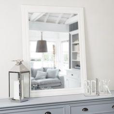 Specchio Léonore bianco 113x82 Idee per la casa Pinterest