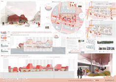 Concept Board Architecture, Architecture Presentation Board, Architecture Panel, Architecture Portfolio, Architecture Design, Architecture Diagrams, Interior Design Presentation, Presentation Layout, Presentation Boards