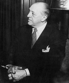 Mies Van Der Rhoe Architect and furniture designer, born in Germany in 1886. Designed the Barcelona chair and Barcelona sofa